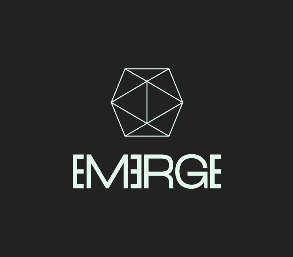 The Emerge festival logo